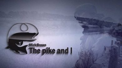 Mick Brown in The Pike and I on Fishing TV