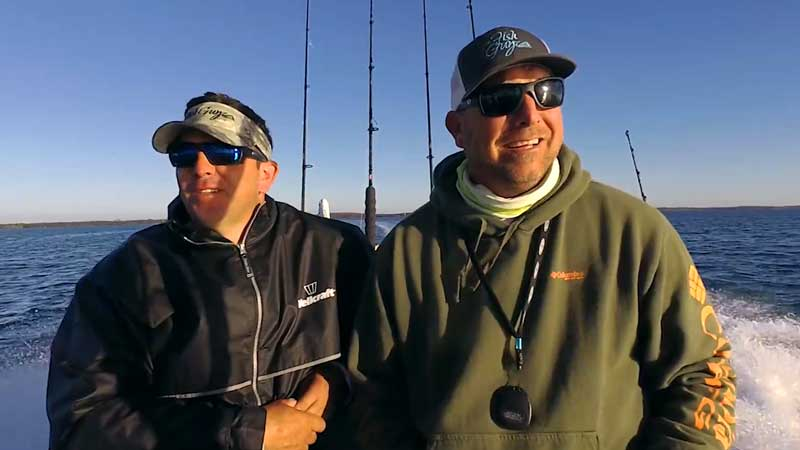 The FIsh Guyz go Off the Edge on Fishing TV