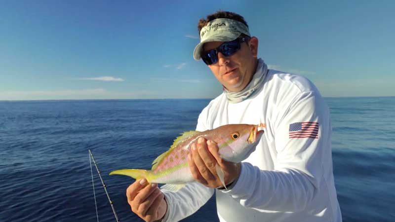Yellowtail Snapper when Fishing for Kids on Fishing TV
